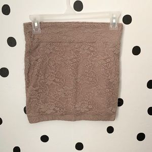 🌈5/$25🌈Charolette Russe lace mini skirt size S